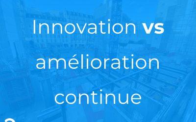 Le Lean ce n'est pas de l'innovation